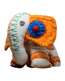 elephant comfort toy Orange