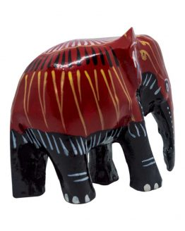Sri Lankan wooden decorated Perahara Elephant. handmade products from Sri Lankan Artisans.