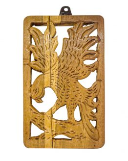 teakwood wall decor