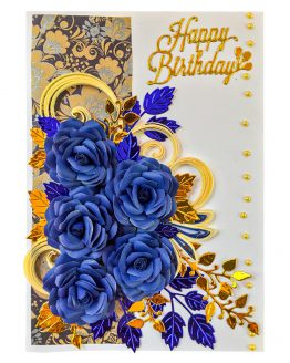 Water color painted Birthday Card