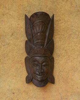 Sri Lankan Wooden traditional Mask | deva mask